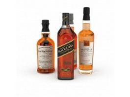 Liquor collection 3d preview