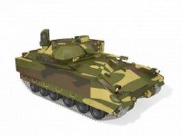Mechanized infantry combat vehicle 3d model preview
