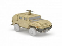 Poland light armoured patrol car 3d preview