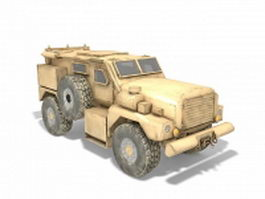 Light infantry mobility vehicle 3d model preview