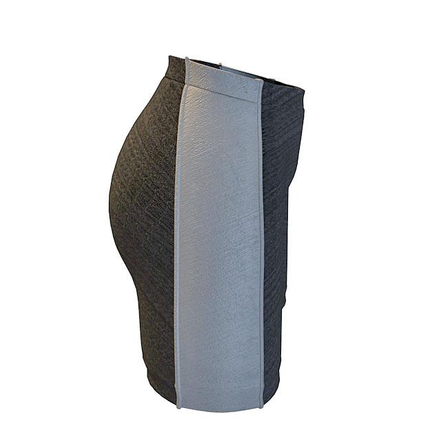 Mens underwear boxer shorts 3d rendering