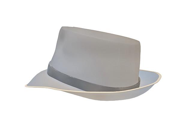 Bowler hat 3d rendering