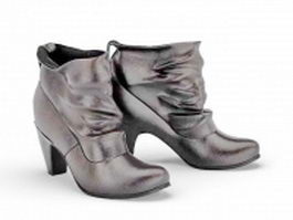 Short boots for women 3d preview