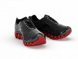 Tennis shoes 3d model preview