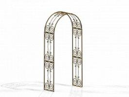 Ornamental arch 3d preview