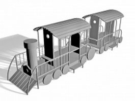Train playground 3d preview