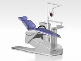 Dental equipment 3d preview