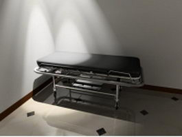 Ambulance stretcher 3d preview