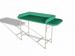 Baby changing table 3d preview