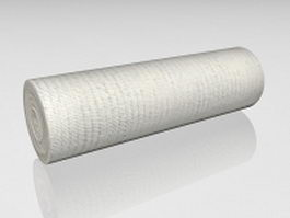Gauze bandage roll 3d preview