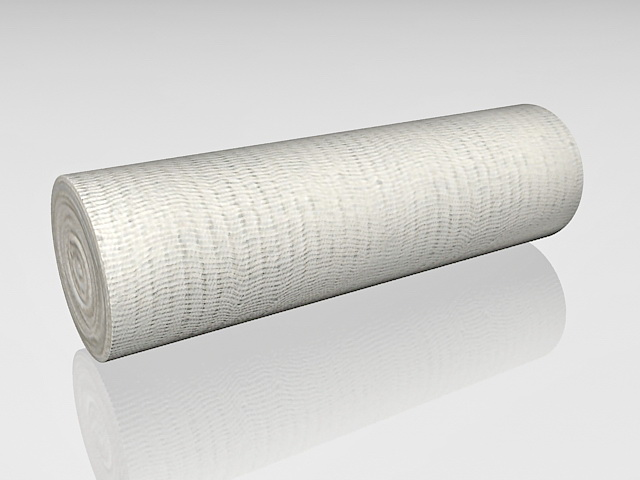 Gauze bandage roll 3d rendering