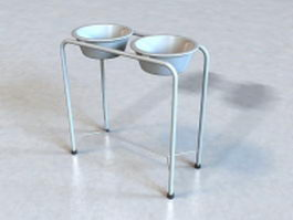 Medical basin stand 3d preview