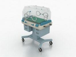 Neonatal incubator 3d preview