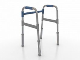 Walking frame 3d preview