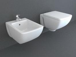 Bidet sanitary 3d preview