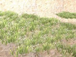 Steppe landform 3d preview