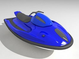 Personal water craft 3d preview