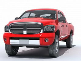 Dodge Ram pickup 3d preview