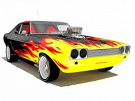 Ford Mustang King Cobra 3d preview