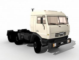 Russia Kamaz truck 3d preview