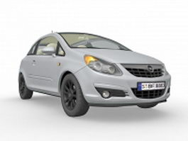 Opel Vauxhall Corsa 3d preview
