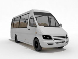 Mercedes benz sprinter van 3d preview