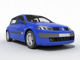 Renault Megane car 3d preview