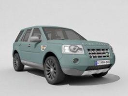 Land Rover Freelander 2 3d preview