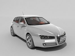 Alfa Romeo 159 3d preview