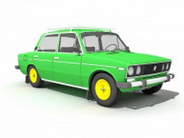 AvtoVAZ car 3d preview
