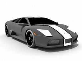 Lamborghini Murciélago 3d model preview