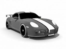 Porsche Cayman S 3d preview