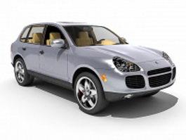 Porsche Cayenne Turbo 3d model preview