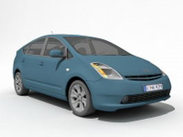 Toyota Prius Hybrid electric car 3d preview