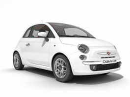 Fiat 500 hatchback 3d preview