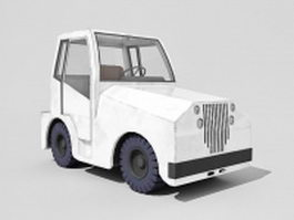 Old tractor 3d preview