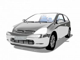 Honda Civic hatchback 3d preview