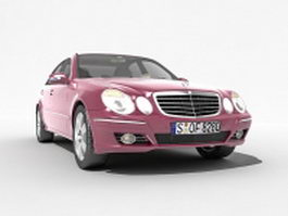 Mercedes-Benz E-Class executive car 3d preview