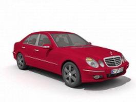 Mercedes-Benz E-Class sedan 3d model preview