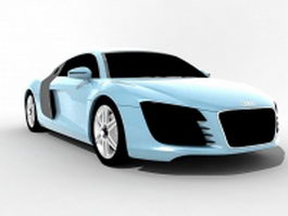 Audi R8 2007 3d preview