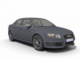 Audi RS 4 compact executive car 3d preview