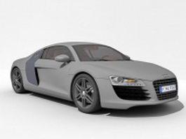Audi R8 super car 3d preview