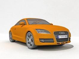 Audi TT sports car 3d preview