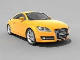 Audi TT Coupe 3d preview
