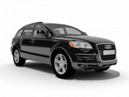 Audi Q5 luxury crossover SUV 3d preview