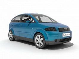 Audi A2 car 3d preview