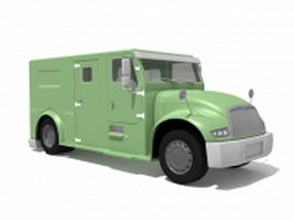 Armored Cash Transport Truck 3d preview