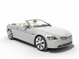 BMW M6 convertible 3d preview