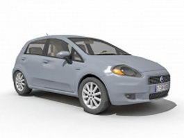 Fiat Grande Punto 3d preview