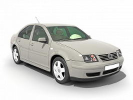 Volkswagen Santana sedan 3d preview
